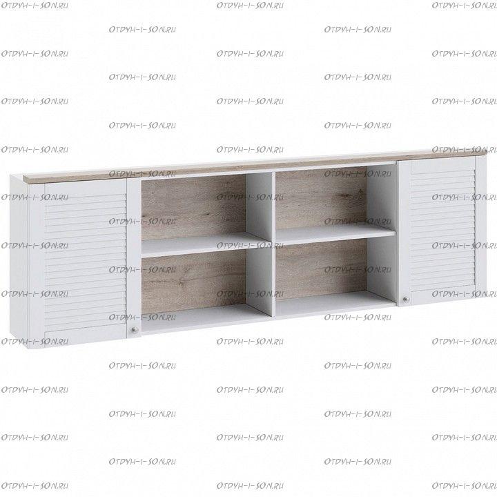 Шкаф настенный Ривьера ТД 241.12.21 Дуб Бонифацио/ Белый