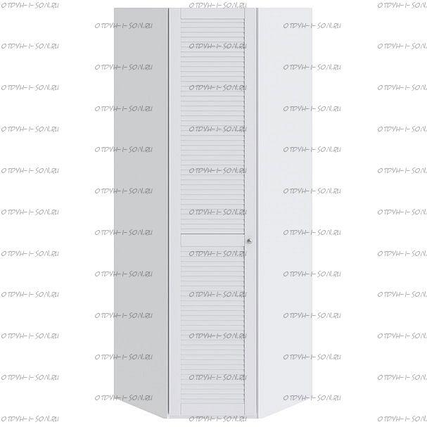 Шкаф угловой Ривьера СМ 241.23.003 L с 1-й дверью Белый
