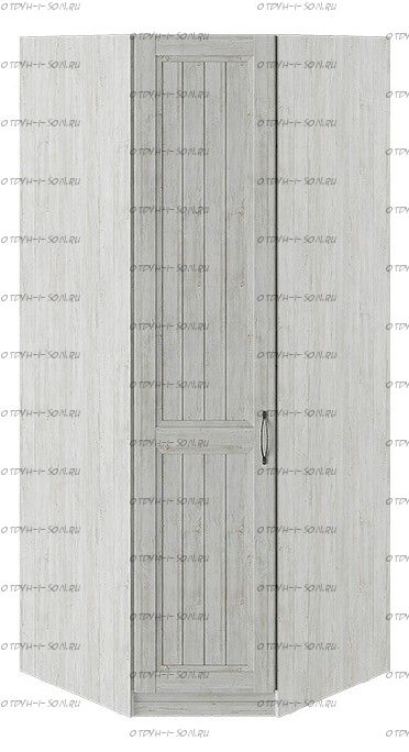 Шкаф угловой с 1 глухой дверью левый Кантри СМ-308.07.030L Винтерберг