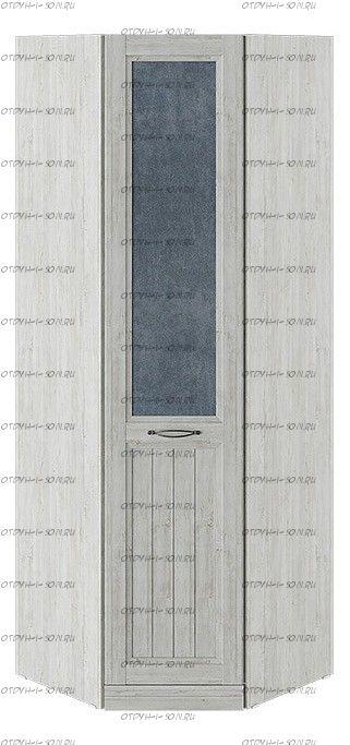 Шкаф угловой с 1 глухой дверью левый Кантри СМ-308.07.230L (з) Замша синяя/Винтерберг