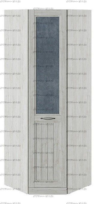 Шкаф угловой с 1 глухой дверью правый Кантри СМ-308.07.230R (з) Замша синяя/Винтерберг