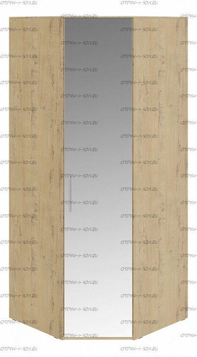 Шкаф угловой с 1 зеркальной дверью правый Николь СМ-295.07.007 R