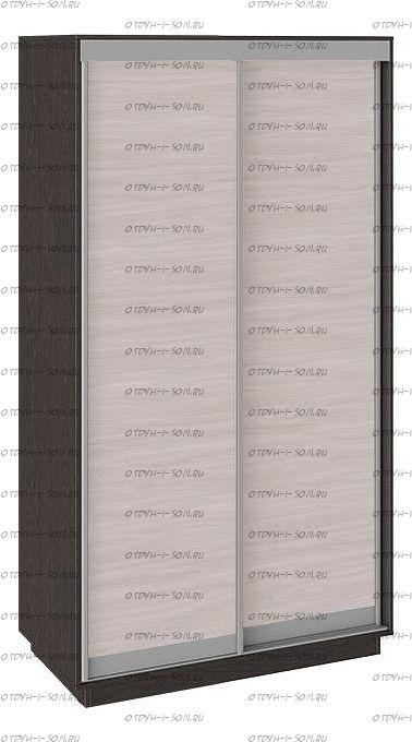 Шкаф-купе 2-х дверный Румер СШК 1.120.60-11.11 Венге, Ясень шимо/Ясень шимо