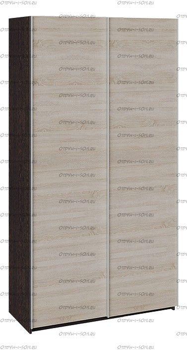 Шкаф-купе 2-х дверный Траст СШК 2.120.60-11.11 (1200x580x2300) Венге,Дуб Сонома/Дуб Сонома