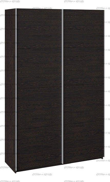 Шкаф-купе 2-х дверный Траст СШК 2.140.70-11.11 (1400x580x2300) Венге, Венге/Венге