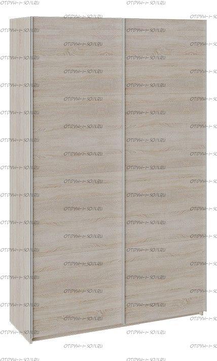 Шкаф-купе 2-х дверный Траст СШК 2.140.70-11.11 (1400x580x2300) Дуб Сонома, Дуб Сонома/Дуб Сонома