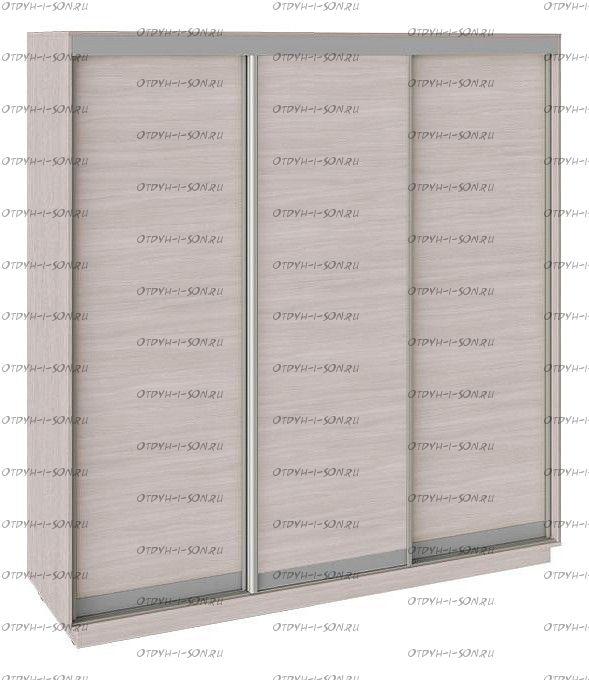 Шкаф-купе 3-х дверный Румер СШК 1.210.70-11.11.11 Ясень шимо, Ясень шимо/Ясень шимо