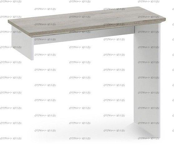 Элемент туалетного стола Ривьера ТД 241.05.01 Дуб Бонифацио/ Белый