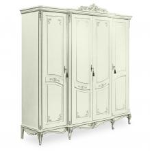 Шкаф БАРОККО для одежды 4-дверный эмаль