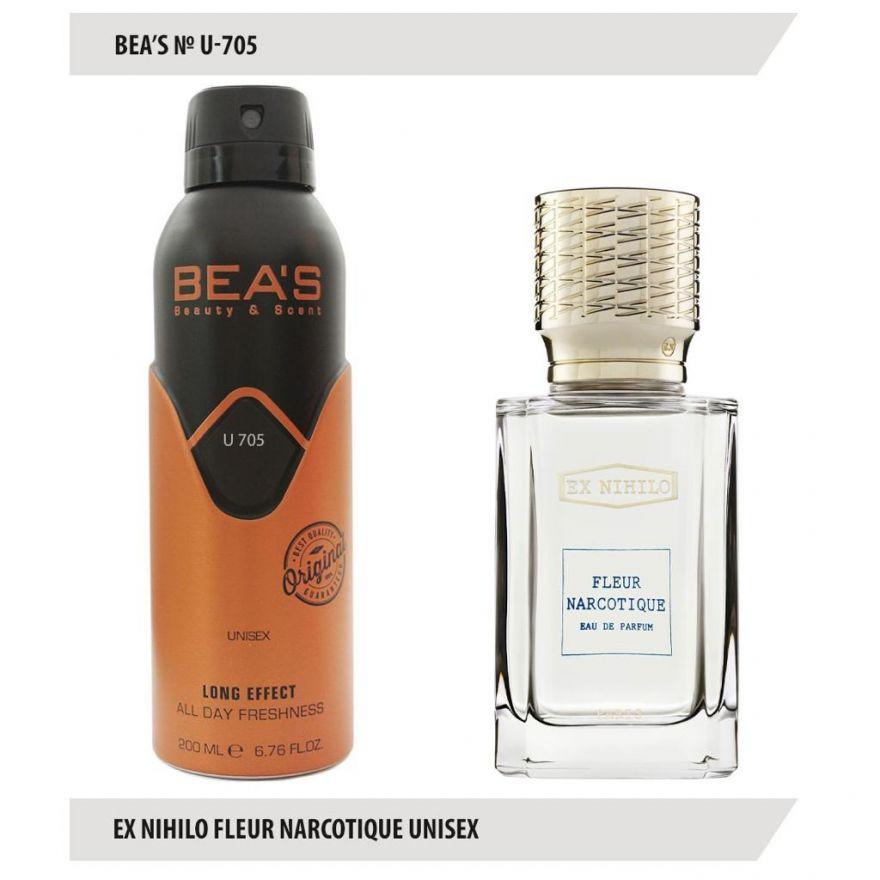 Дезодорант BEA'S U 705 -  Ex Nihilo Fleur Narcotique 200мл