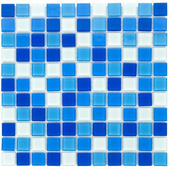 Мозаика стеклянная Aquaviva Cristall Bahama Light DCM304