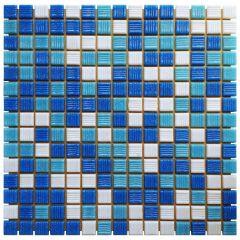 Мозаика стеклянная Aquaviva Miami Dark