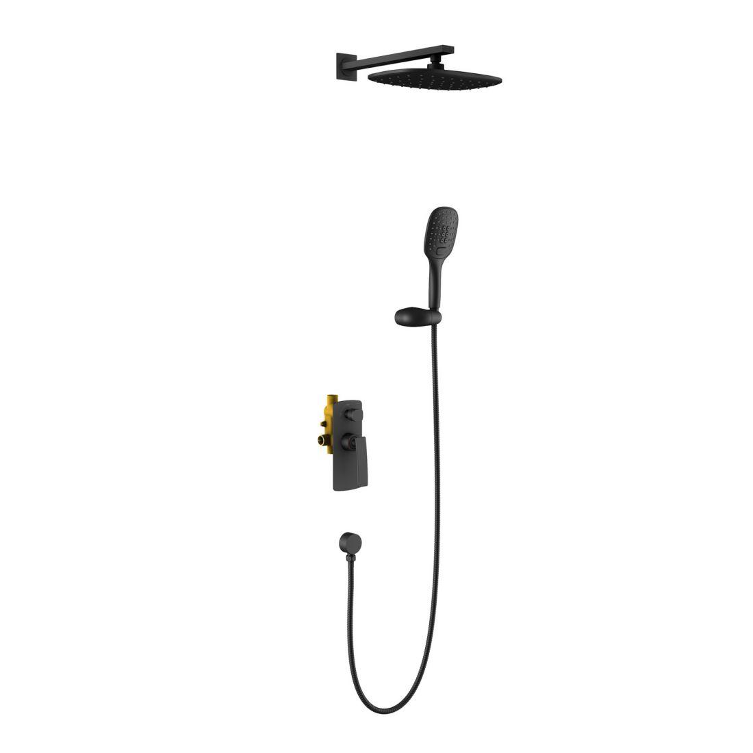 Душевая система встроенная Timo Helmi (SX-4069/03SM) черный