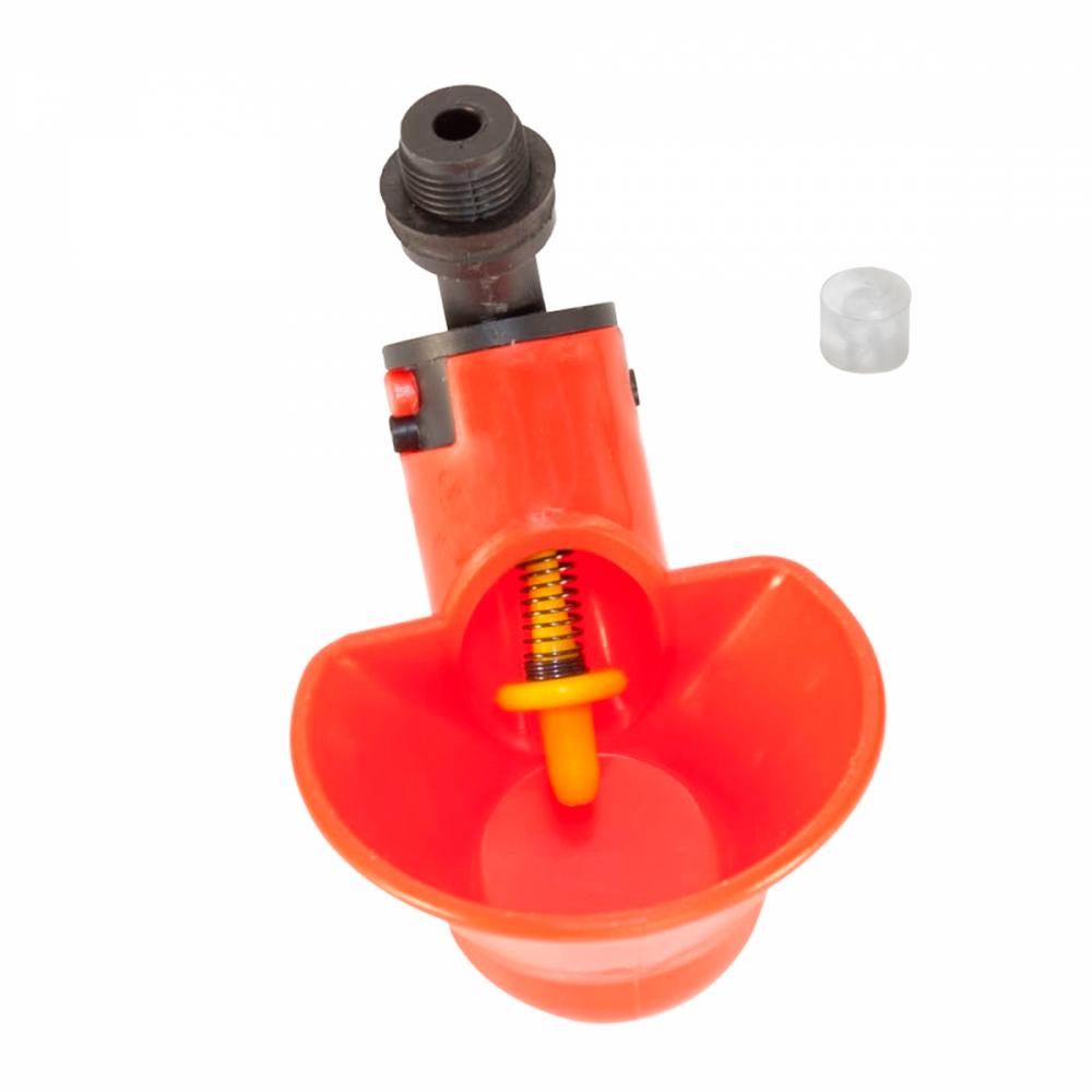 Микрочашечная поилка ПП-02 М12х1 с силиконовым клапаном