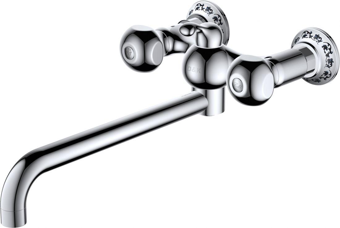 Смеситель для ванны D&K Hessen Kassel (DA1423301)