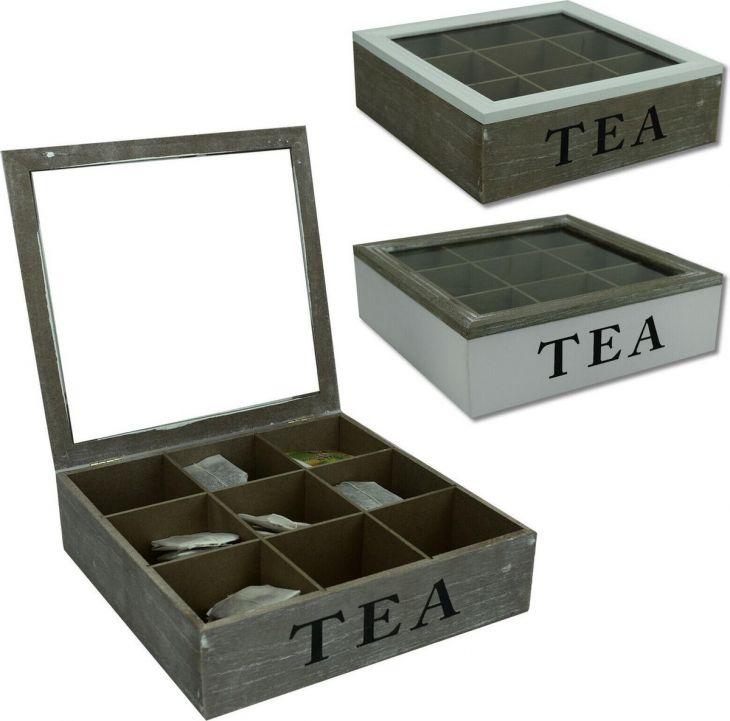 Коробка для чайных пакетиков 9-OS