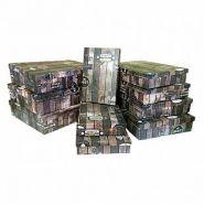 """Набор подарочных коробок 10 в 1 """"Деревянный ящик. Винтаж"""""""