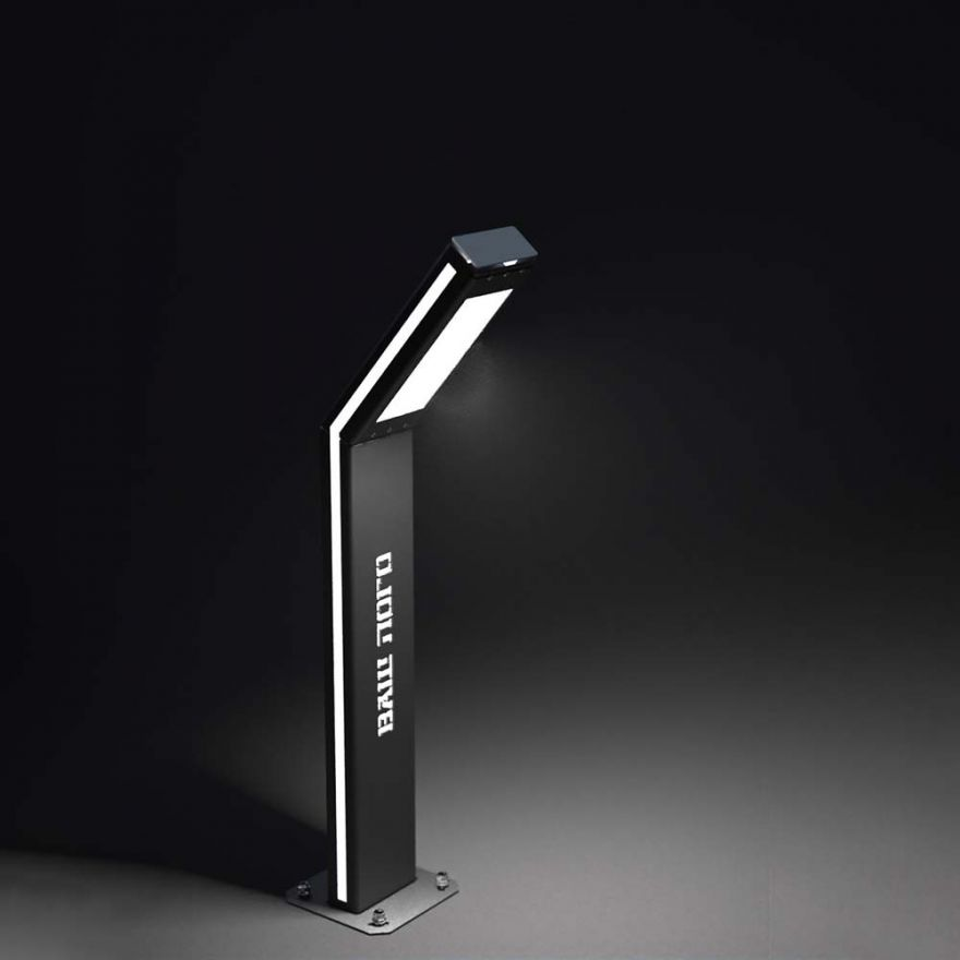 Светильник уличный парковый Светоток Комбо Minimum Plus Branding и Led-корпус
