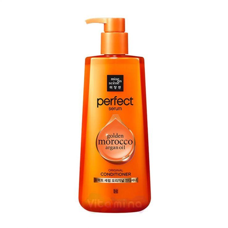 Mise En Scene Кондиционер для поврежденных волос Perfect Serum Golden Morocco Argan Oil Original Сonditioner, 680 мл