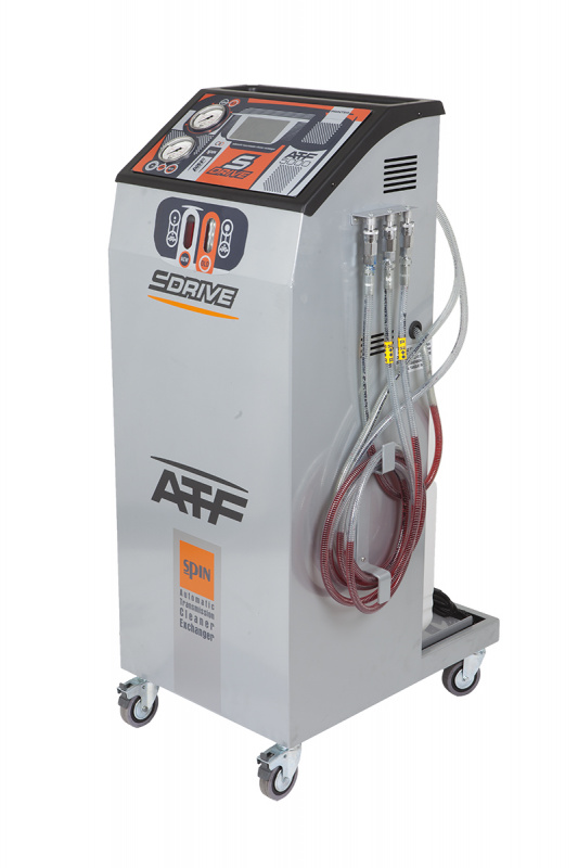 ATF S-DRIVE 5000+ установка замены жидкости в АКПП всех типов, автоматическое управление
