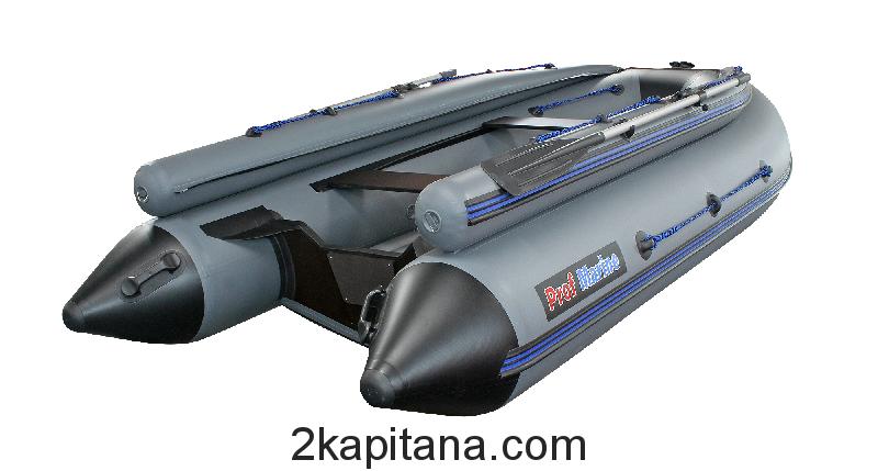 Надувная ПВХ лодка PM 370 Air FB, моторно-гребная, килевая