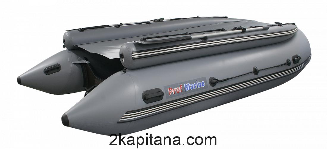 Надувная ПВХ лодка РМ 450 Air FB, моторная-гребная, килевая