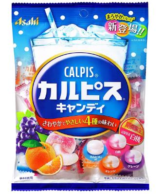 Asahi Calpis Фруктовые леденцы