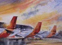 Почтовая открытка Аэропорт