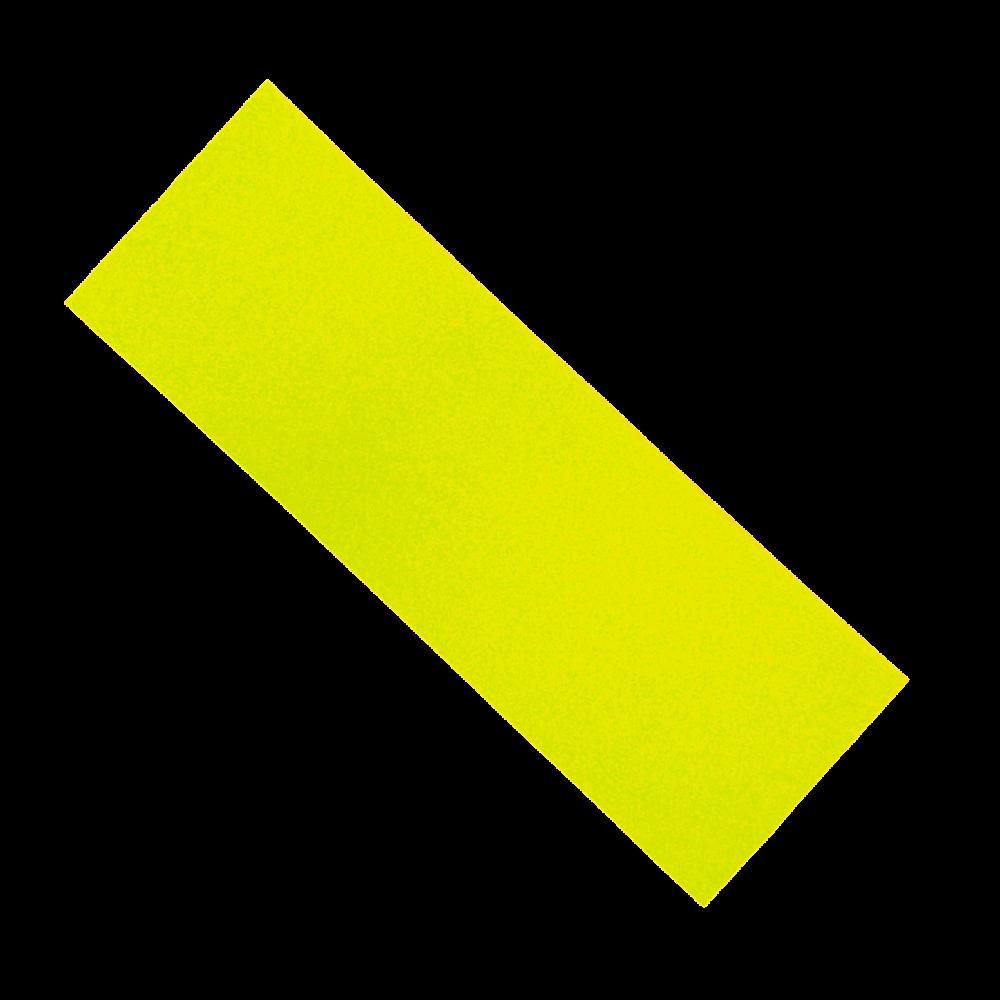 Шкурка для самоката неон желтая 14*40 см