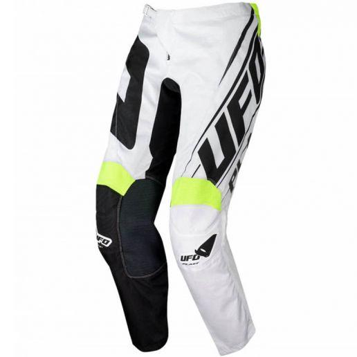 UFO Vanadium Pants Black/White штаны для мотокросса и эндуро, черно-белые