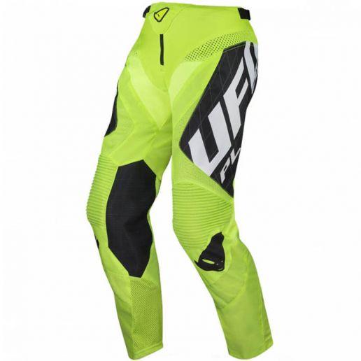 UFO Deepspace Pants Neon Yellow штаны для мотокросса и эндуро, желтые