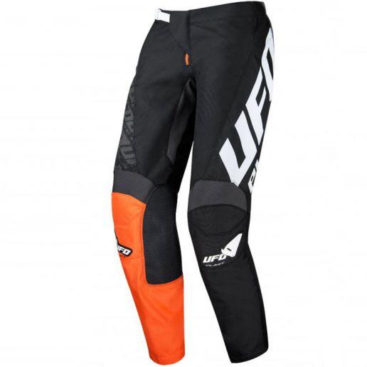 UFO Indium Pants Black штаны для мотокросса и эндуро, черные