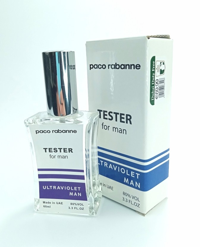 Paco Rabanne Ultraviolet (for man) - TESTER 60 мл