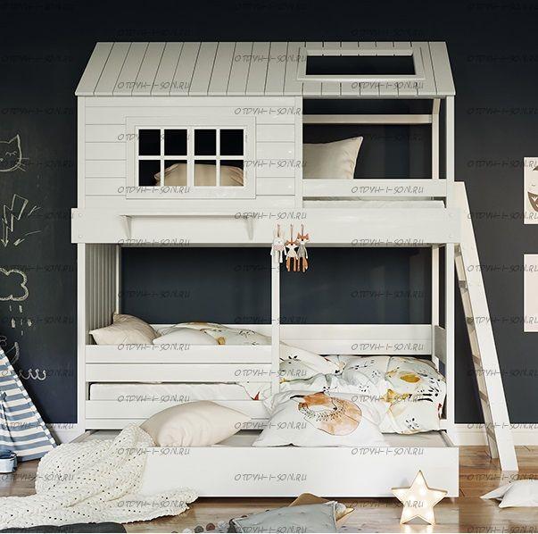 Кровать двухъярусная, Кровать-домик Felicia №55А