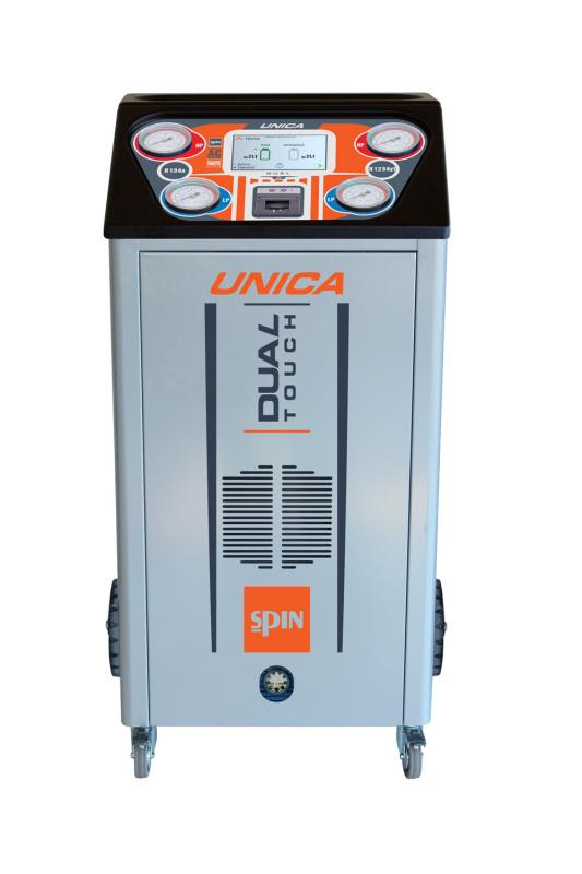 UNICA установка для заправки кондиционеров двухгазовая HFO1234yf/R134а, автомат