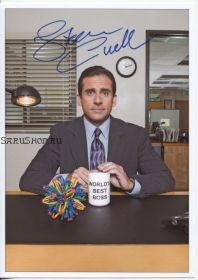 Автограф: Стив Карелл. Офис / The Office