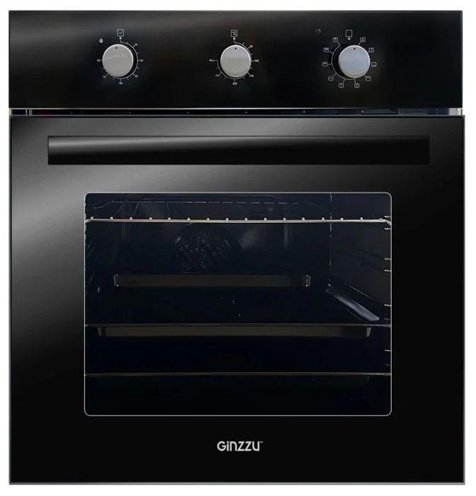 Духовой шкаф Ginzzu HOE-241 Чёрный
