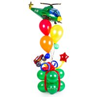 Фигура из шаров Подарок мальчугану
