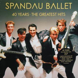 Spandau Ballet - 40 Years (The Greatest Hits) 2020  2LP