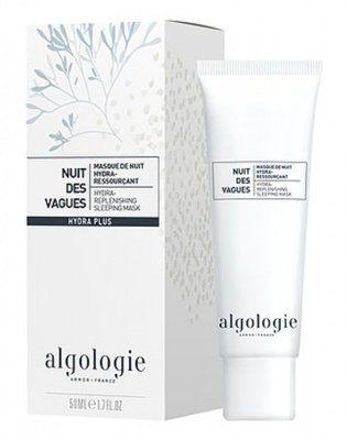 Увлажняющая восстанавливающая ночная маска «Морские волны», Algologie (Алголоджи) 50 мл