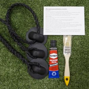 Набор для тюнинга леерные рыма + обвязка №5 (черный)