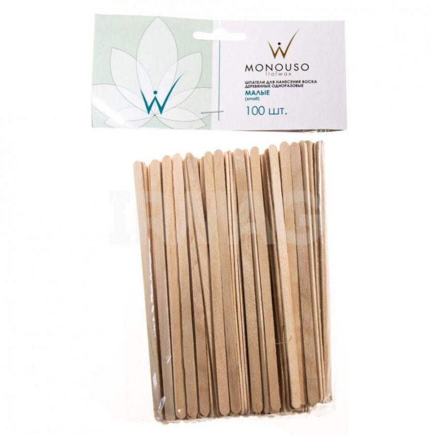 Шпатель деревянный, узкий Italwax  №100