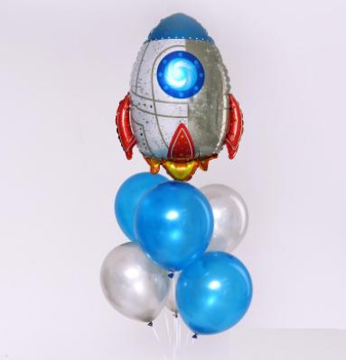Букет из шаров «Ракета»