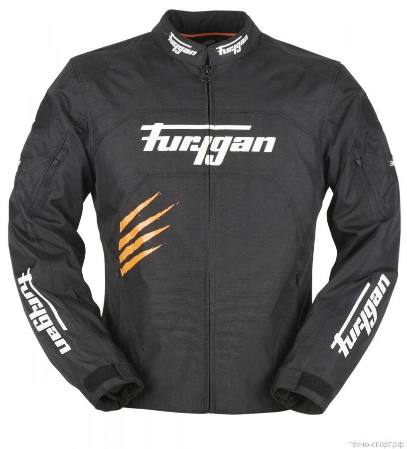 Мотокуртка FURYGAN ROCK текстиль Black/Orange