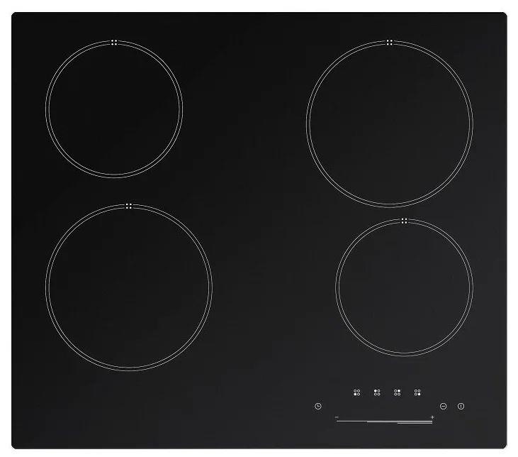 Электрическая варочная панель Kuche CSH 640 B Чёрная