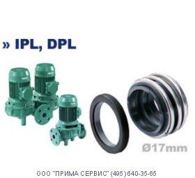 Торцевое уплотнение насоса Wilo VeroTwin-DPL / DPL32/130-1,1/2-X1