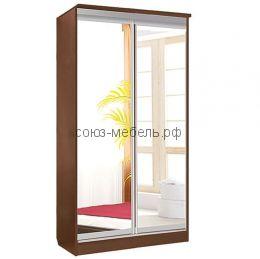 Зеркальный шкаф-купе 2х