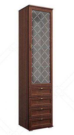 Шкаф - витрина с ящиками 24.01 Моника