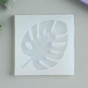 """Молд силикон """"Пальмовый лист"""" 0,8х7х7 см"""