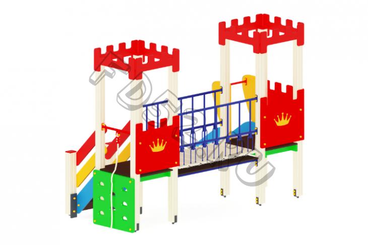 Детский игровой комплекс   Королевство Горка 900  3100х2550х2730